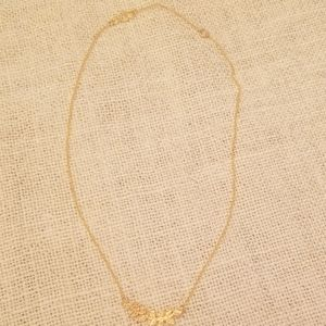 Noonday Collection forestry necklace